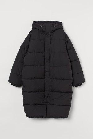 Puffer Coat - Black - Ladies | H&M CA
