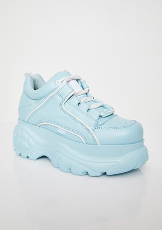 Buffalo London Sky Classic Low Leather Sneakers | Dolls Kill