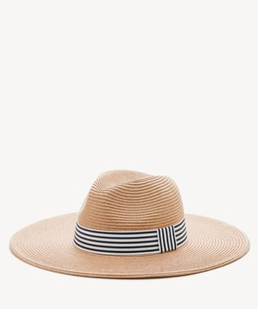 Sole Society Panama Hat W/ Stripe Band | Sole Society Shoes, Bags and Accessories
