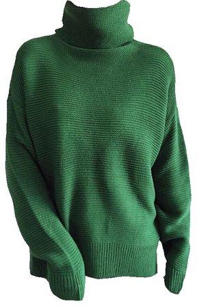 green sweater shirt png
