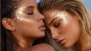 glitter on face coachella makeup - Google Search