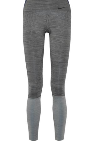 Nike Legendary color-block Dri-FIT stretch leggings