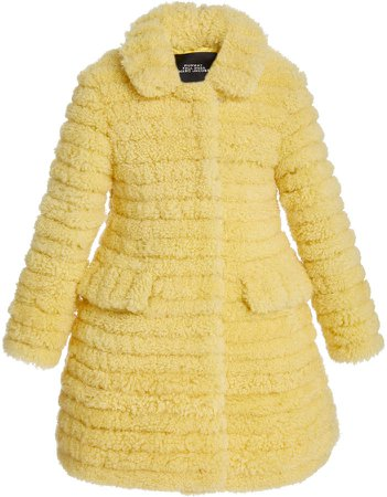 Marc Jacobs Shearling A-Line Coat