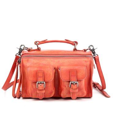 OLD TREND Las Luna Leather Crossbody Bag & Reviews - Handbags & Accessories - Macy's