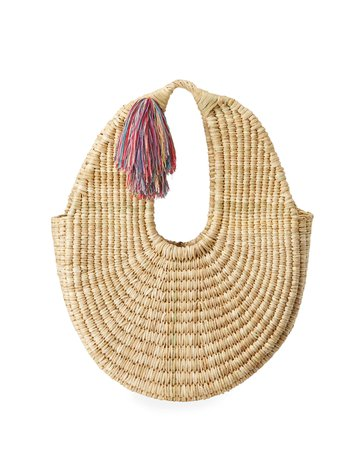 Nannacay Cotio Betina Straw Hobo Bag