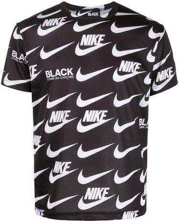 Comme Des Garçons Black x Nike all-over print T-shirt