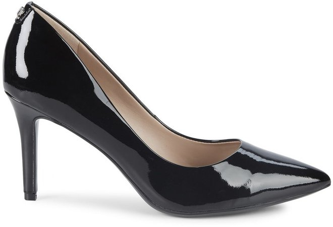 Royale Patent Leather Pointy Pumps