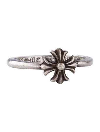 Chrome Hearts Maltese Cross Bubblegum Ring - Rings - CHH26751