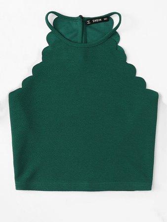 Emerald Crop Top
