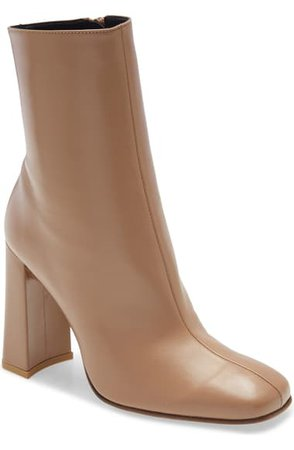 By Far Elliott Block Heel Bootie (Women) | Nordstrom