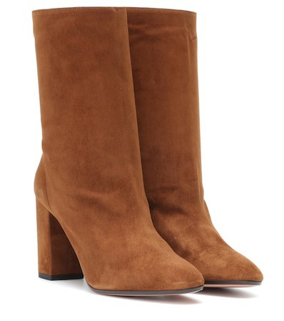 Boogie 85 suede ankle boots