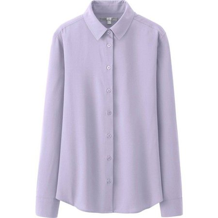 Pinterest UNIQLO Silk Touch Long Sleeve Blouse