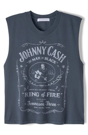 Daydreamer Johnny Cash Muscle Graphic Tee | Nordstrom
