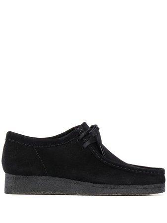 Clarks Originals Wallabee Suede Derby Shoes - Farfetch