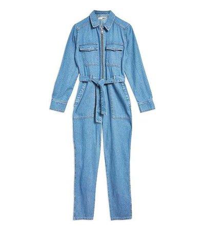 Topshop Utility Zip Boiler Suit