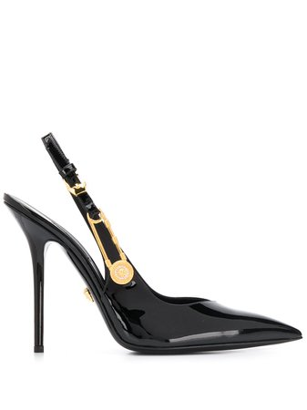 Versace Safety Pin Pumps - Farfetch