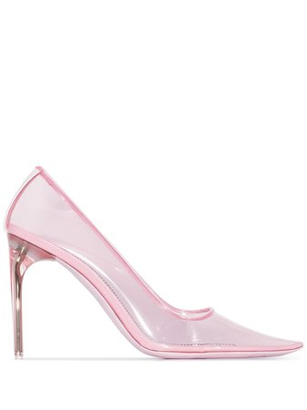 Givenchy Transparent 100mm Pumps - Farfetch