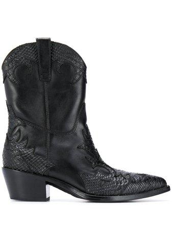 Ash Heeled Cowboy Boots - Farfetch