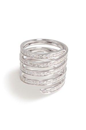 Pavé Coil Ring Gr. 7