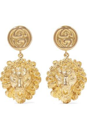 Gucci | Gold-tone earrings | NET-A-PORTER.COM