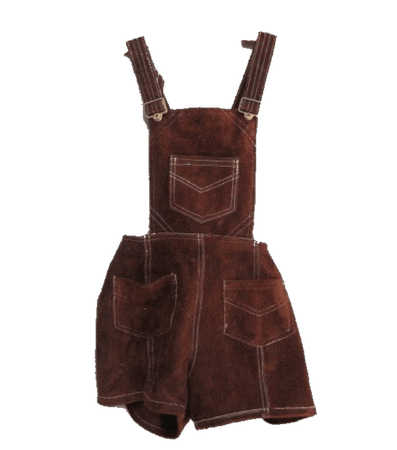brown overalls png