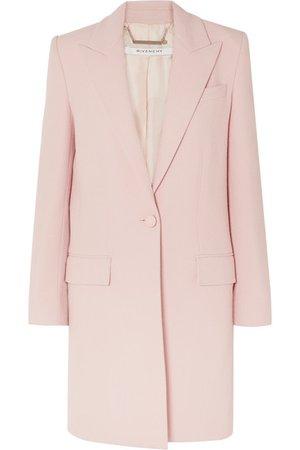 Givenchy   Wool-crepe coat   NET-A-PORTER.COM