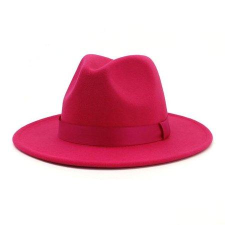hot pink fedora hat - Google Search