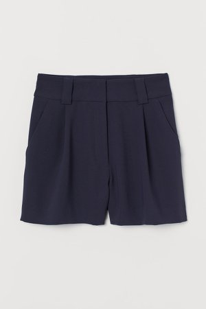 Tailored Shorts - Blue