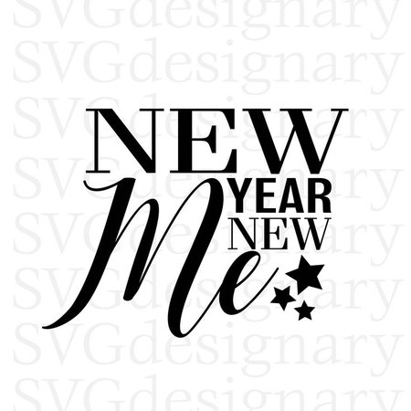 New Year's Quotes 2019 : Excited to share the latest addition to my #etsy shop: New Year New Me (New Year... - Quotess | Bringing you the best creative stories from around the world