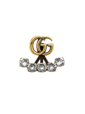 Gucci Double G Embellished Earrings | Farfetch.com