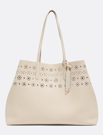 Laser Cut Reversible Tote – Draper James