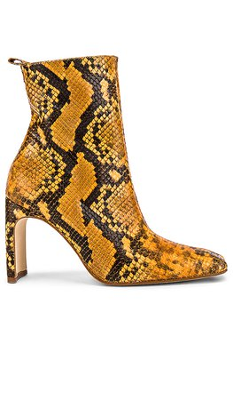 Miista Marcelle Bootie in Queenlux Honey | REVOLVE
