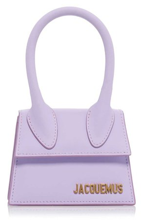jacquemus purple mini bag