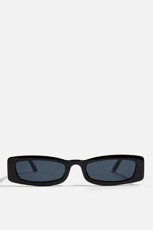 NOSTALGIA Rectangle Sunglasses | Topshop
