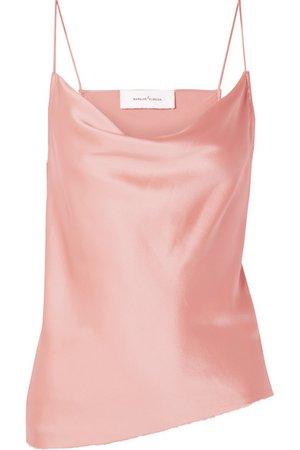 Marques' Almeida | Draped silk-satin camisole | NET-A-PORTER.COM
