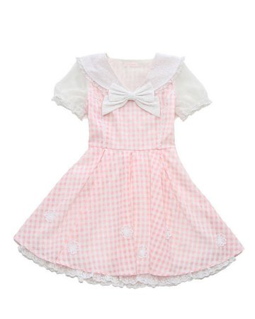 liz lisa gingham dress
