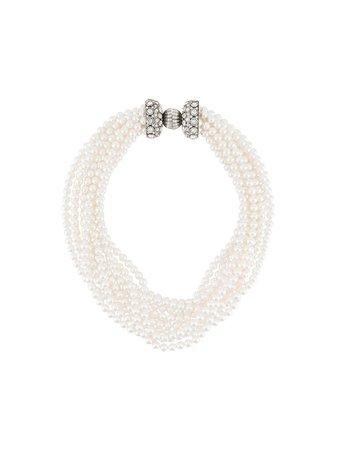 LANVIN, faux pearl necklace
