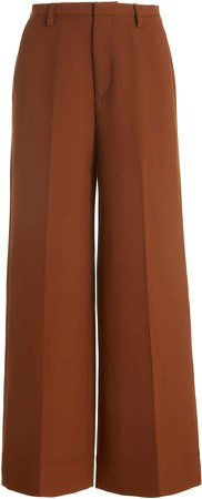byTiMo Crepe Wide-Leg Pants