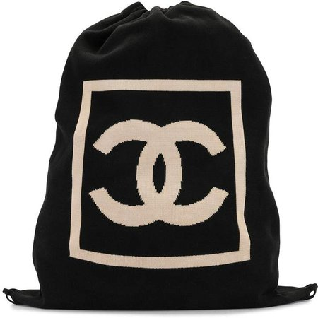 Chanel Pre Owned Sports Line CC drawstring backpack