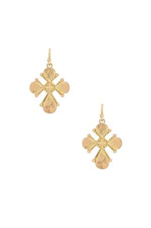 Nouveau Cross Statement Earrings