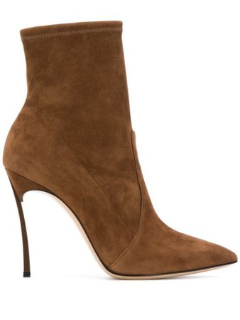 Casadei ankle-length Pointed Boots - Farfetch
