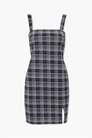 Plaid Bodycon Dress   Forever 21