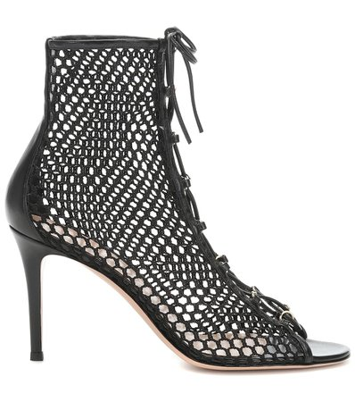 Helena 85 Leather Ankle Boots - Gianvito Rossi | mytheresa.com