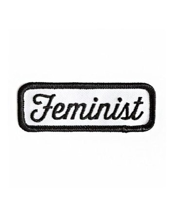 Feminist Patch - Black – Strange Ways