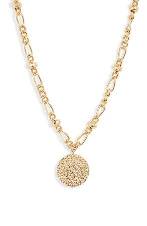 gorjana Banks Coin Pendant Necklace | Nordstrom