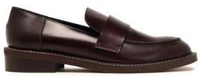Glossed-leather Loafers