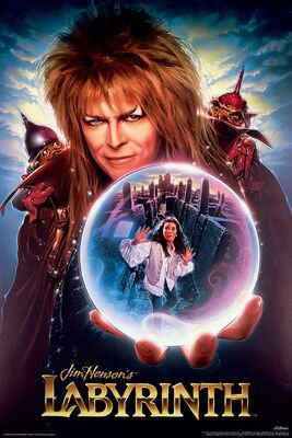 David Bowie | Labyrinth Poster | EMP