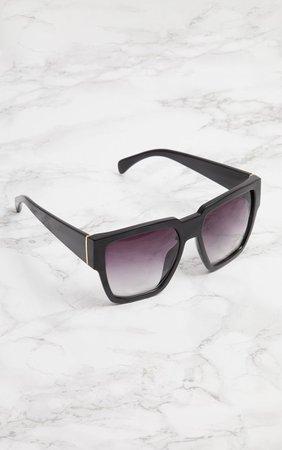 Black Oversized Square Sunglasses | PrettyLittleThing