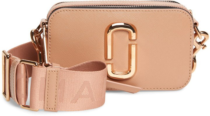 Snapshot Leather Crossbody Bag