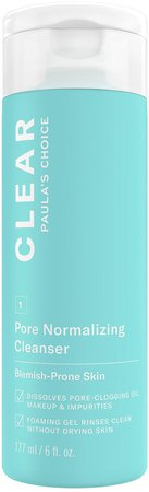 CLEAR Pore Normalizing Acne Cleanser